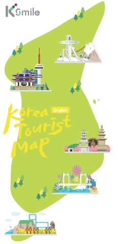 KOREA TOURIST MAP