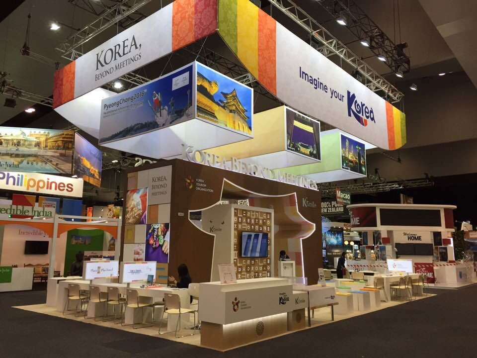 Booth opened in Korea IMEX in Frankfurt