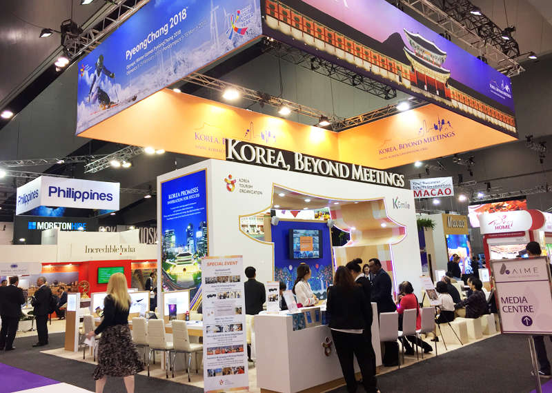 Korea Tourism Organization at IMEX 2017