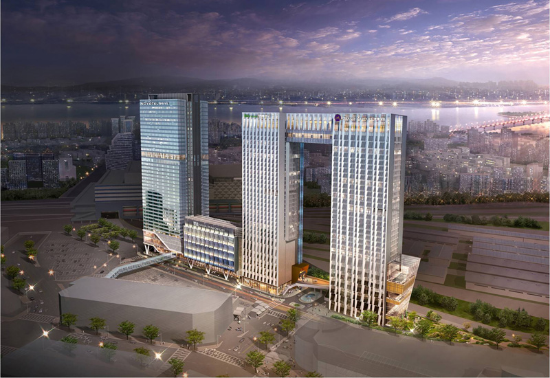 Accor Ambassador Korea Launches Seoul Dragon City Hotel Complex