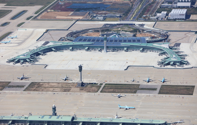 Incheon International Airport Passenger Terminal 2 provides AREX, KTX and Limousine Bus Services