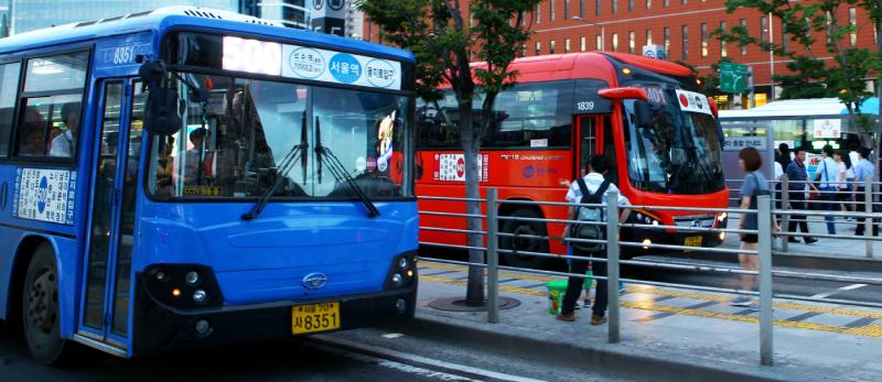 Free Wifi on public buses in Korea