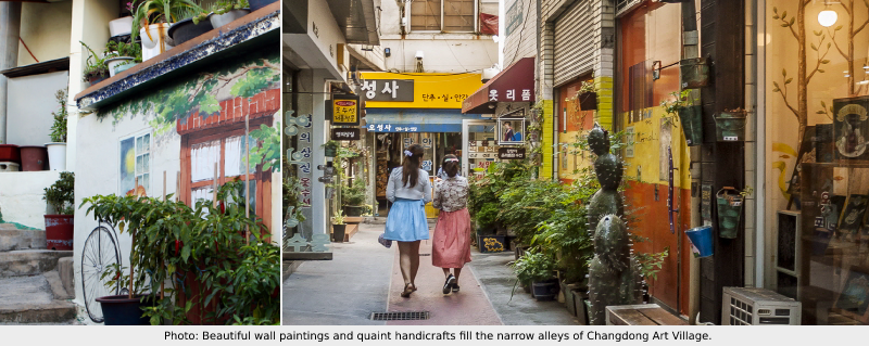 Changdong Changwon Art Village