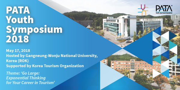 Gangneung-Wonju National University to Host PATA Youth Symposium