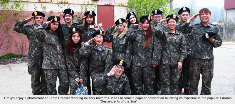 (Afternoon) Paju Camp Greaves Military Experiences