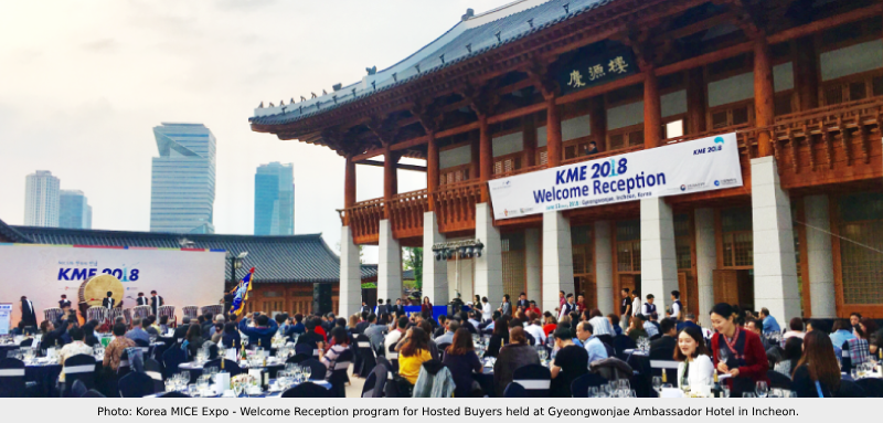 Korea MICE Expo 2018 - Welcome Reception for Hosted Buyers
