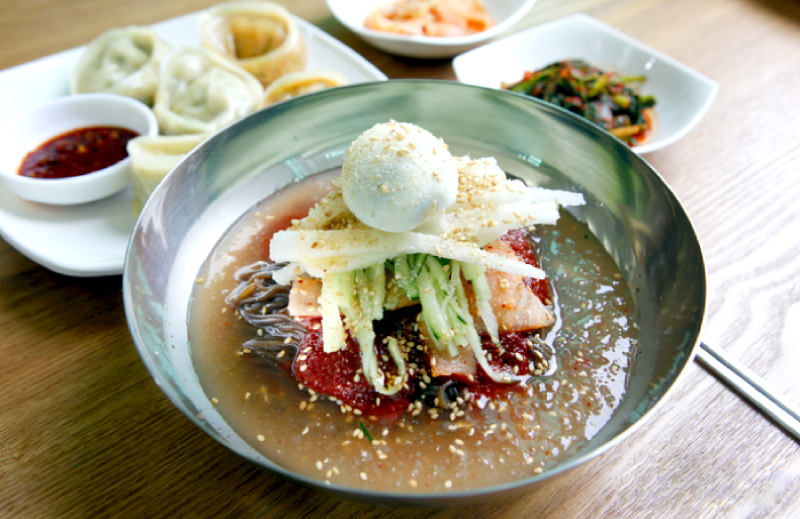 Top Korean Foods to Beat the Heat - Cold Noodles - Naengmyeon