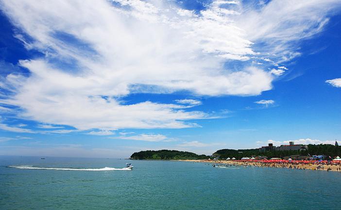 Sokcho Beach in Sokcho-si, Gangwon-do
