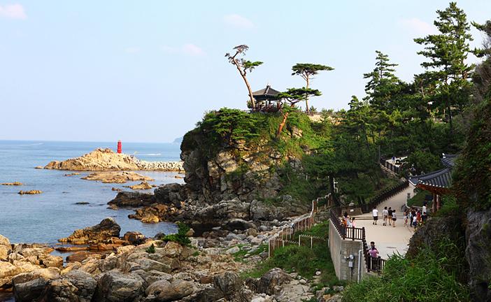 Naksan Beach in Yangyang-gun, Gangwon-do