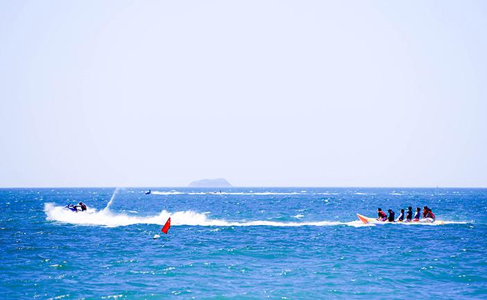 Daecheon Beach water sports activity