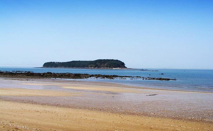 Muchangpo Beach in Boryeong-si, Chungcheongnam-do