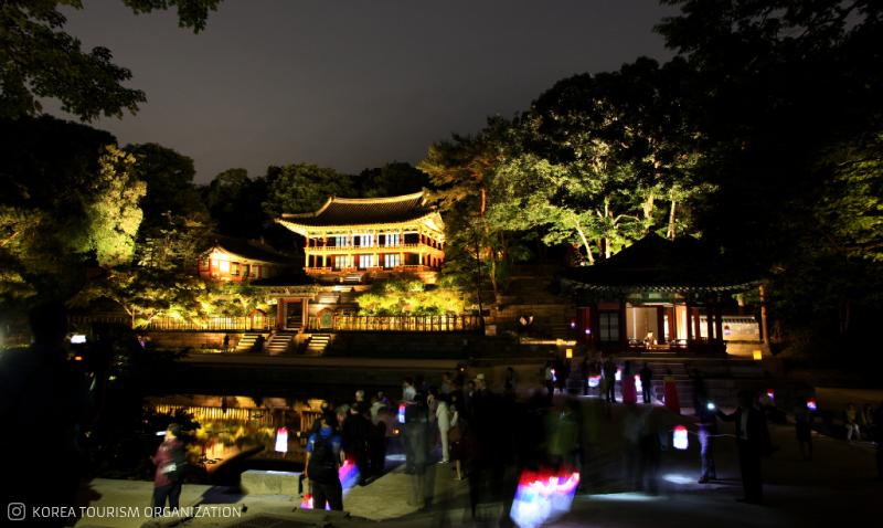 Enjoy Moonlight Tour at Changdeokgung Palace