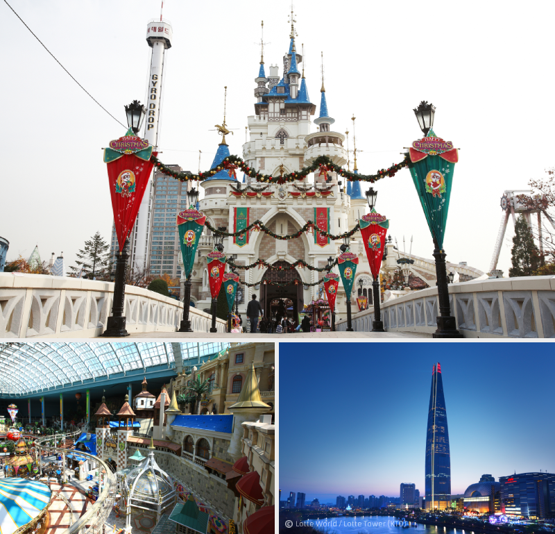 4. Enter a day full of adventures and magic at Lotte World